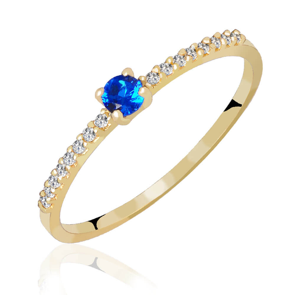 Anéis com Zircônia Colors
