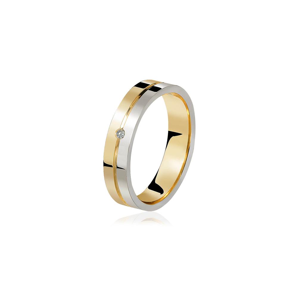 Aliança de Ouro Amabella Diamond