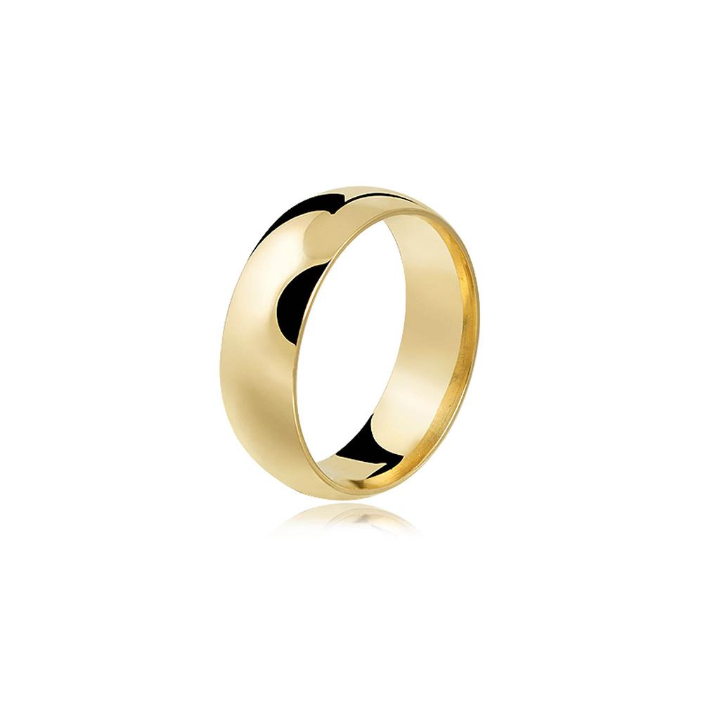 Aliança de Ouro Amazing Premium