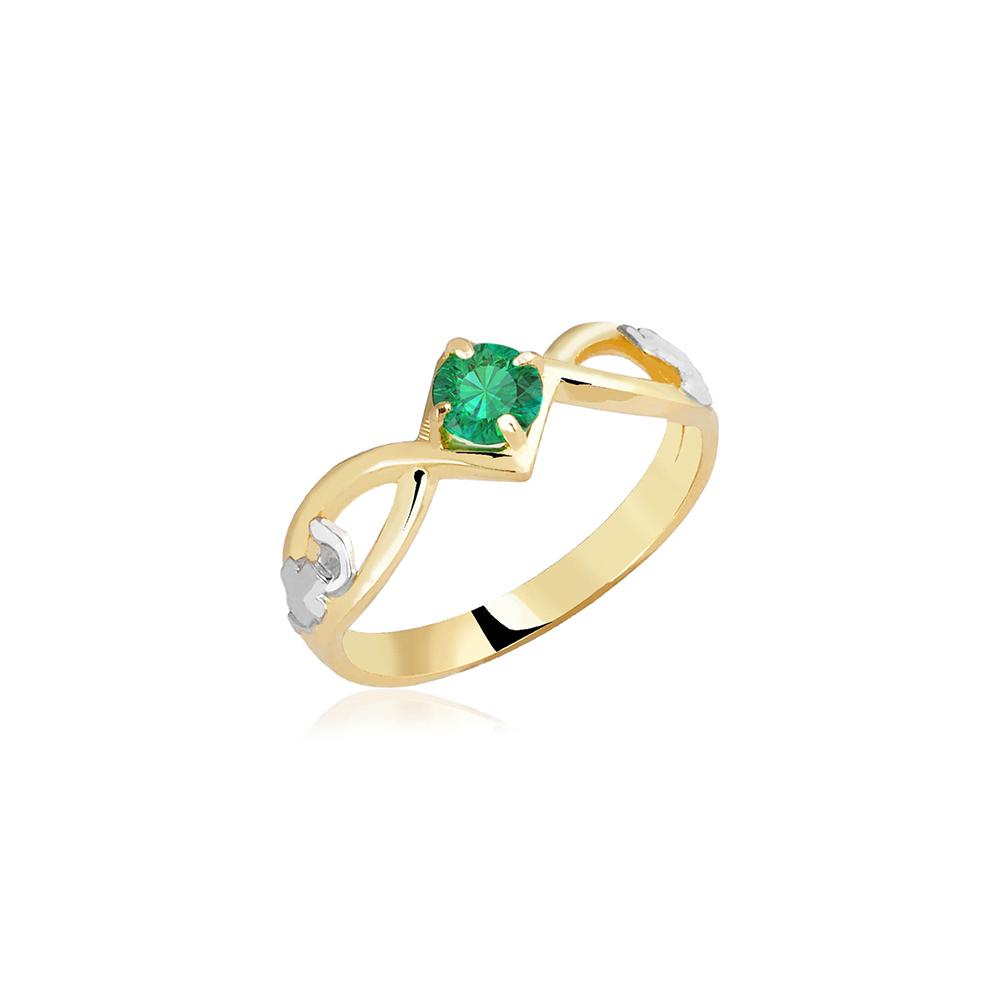 Anel de Formatura em Ouro Curie Natural Diamonds