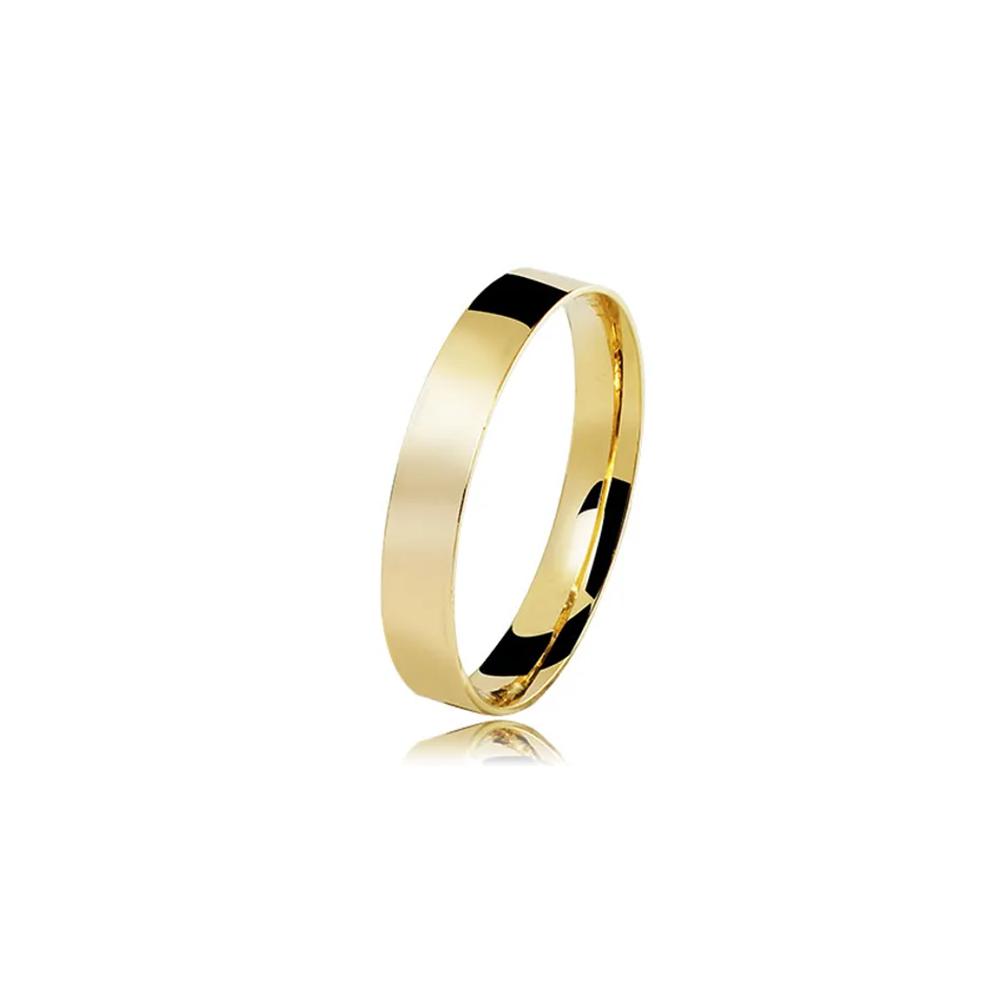 Aliança de Ouro Finesse Premium
