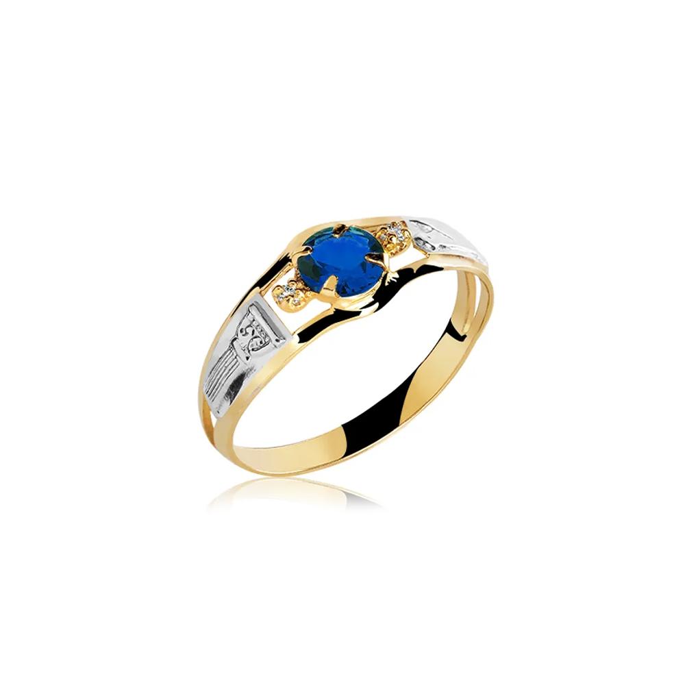 Anel de Formatura em Ouro Serpens Natural Diamond