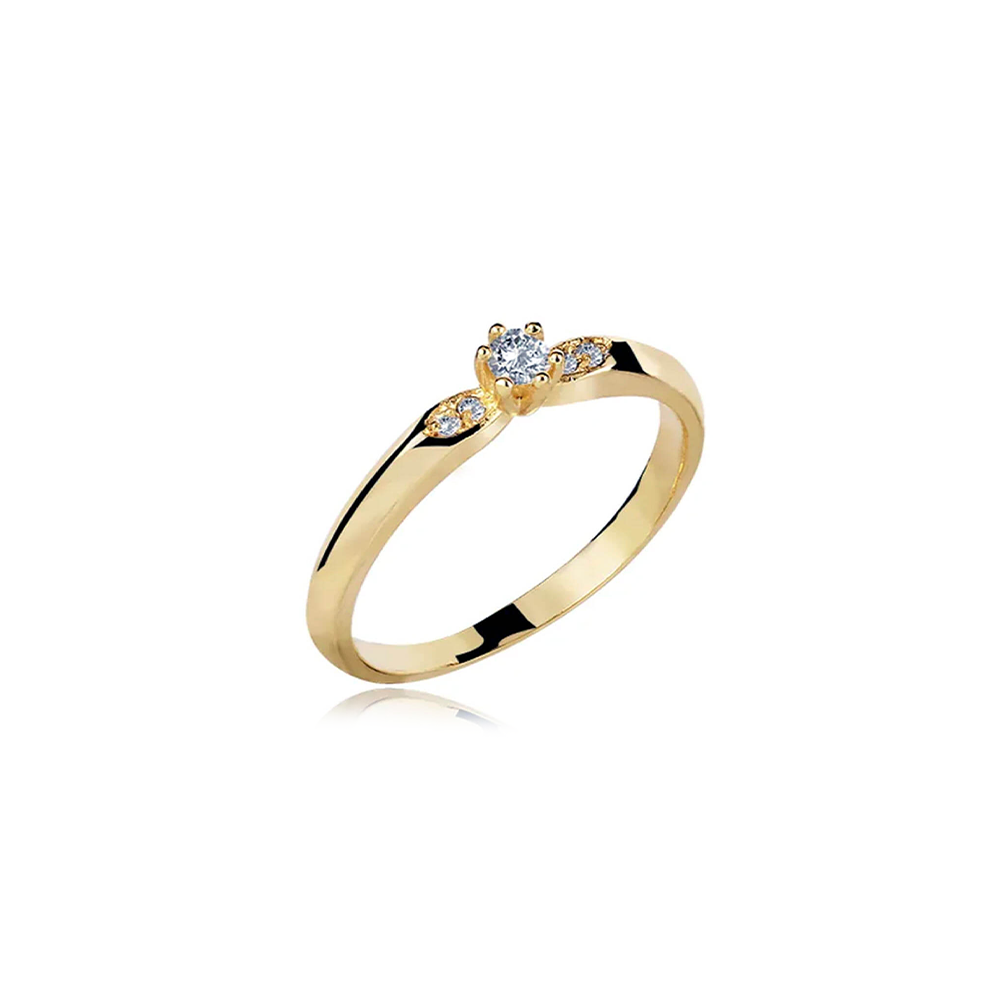 Anel de Ouro Kiara Diamond