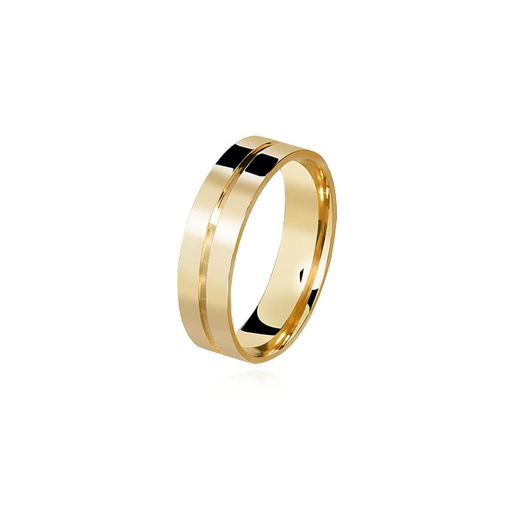 Aliança de Ouro Married Plus