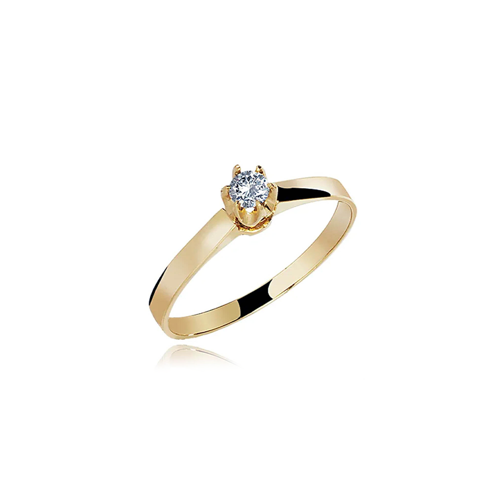 Anel de Ouro Piemont Diamond