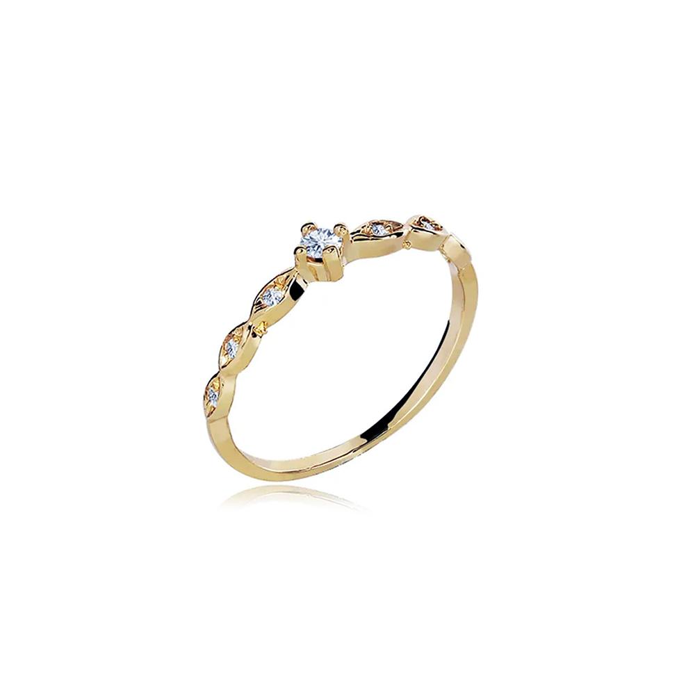 Anel de Ouro Sofia Diamond