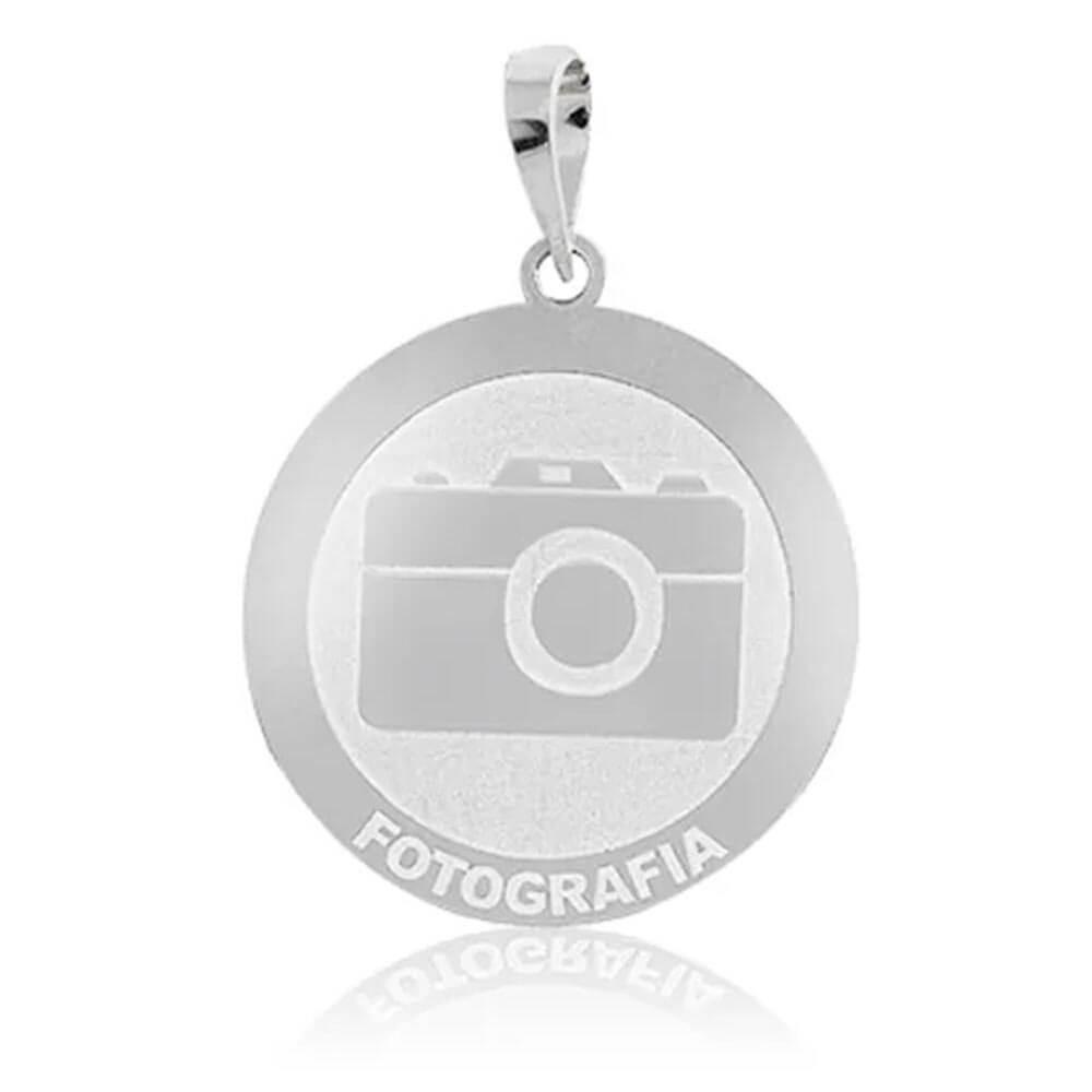 Pingente De Prata Profissão Fotografia