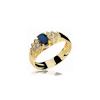 Anel de Formatura em Ouro Dolor Natural Diamonds
