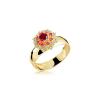 Anel de Formatura em Ouro Luppiter Natural Diamonds