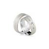 Alianças de Prata Amare Love Gold Crystalis